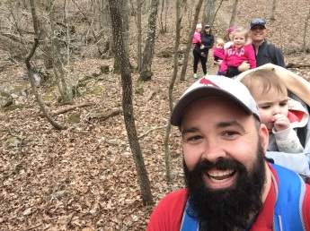 Hiking with our friends in St. Francios State Park