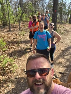Hiking with the Jackson Crew at Castlewood State Park